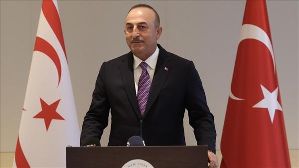 """Çavuşoğlu: """"Kıbrıs'ı birlikte sonuna kadar savunmaya devam edeceğiz"""""""