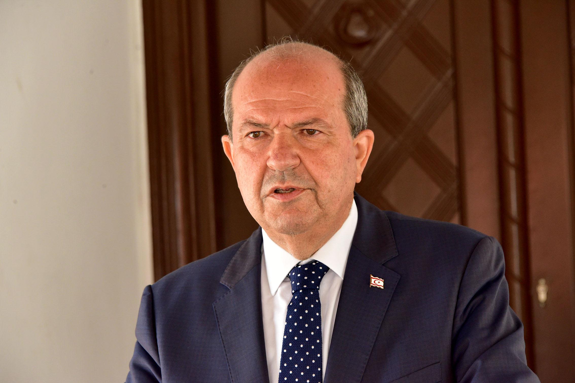 Cumhurbaşkanı Tatar New York temaslarıyla ilgili bilgilendirme toplantısı düzenledi