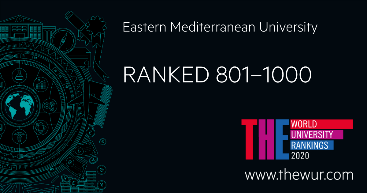 """EMU listed in """"Times Higher Education"""" World ranking ..."""